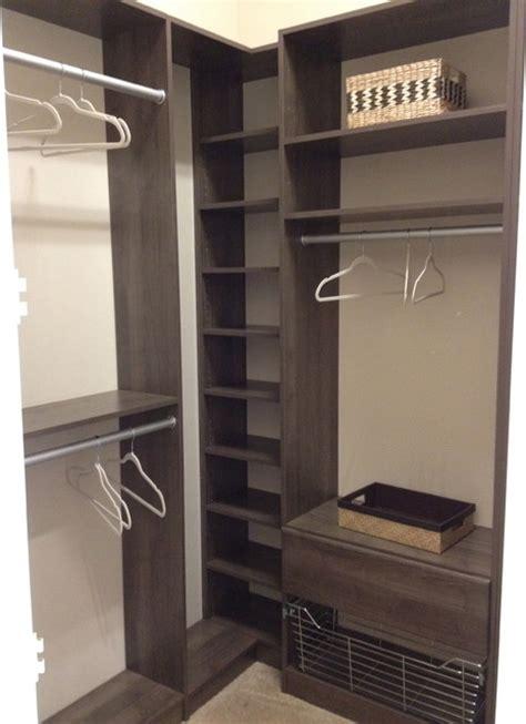 corner closet idea organization ideas