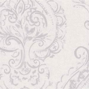 Vintage Pale Violet Shimmering Damask Patterned Roller Blinds