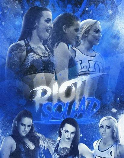 Squad Riott Wwe Divas Riot Liv Ruby