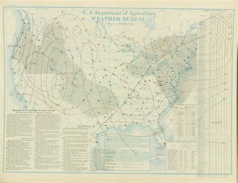 bureau weather weather maps of the united states for mid to late april