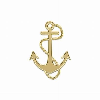 Anchor Sailor Golden Ship Gold Marine Pixabay