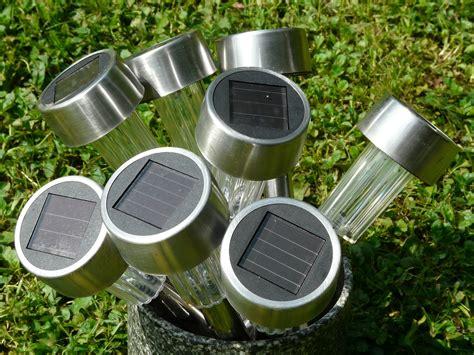 lamparas solares  el jardin