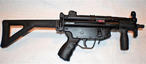 unfired hk mpkn pdw mm tdyer full auto machine gun side arm sams