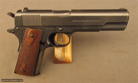 Ww1 U.s. Military Colt 45 1911 Pistol