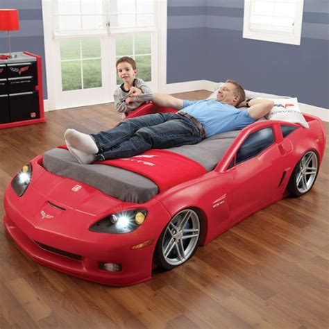 Corvette Car Bed - the most awesome beds for supercar enthusiasts