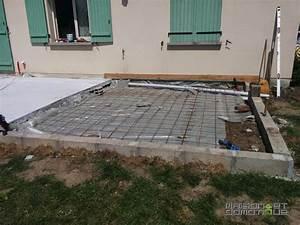 Dalles Beton Terrasse : terrasse dalle termin e maison et domotique ~ Melissatoandfro.com Idées de Décoration