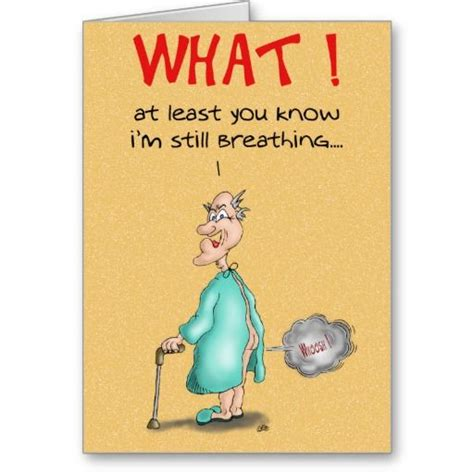 funny birthday cards  fart card funny cartoon