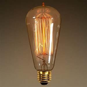 W vintage antique light bulb a