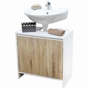 Meuble Dessous De Lavabo : meuble meuble colonne meuble dessous lavabo meuble bas eminza ~ Melissatoandfro.com Idées de Décoration