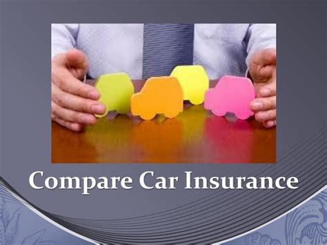 How To Compare Car Insurance Quotes Powerpoint
