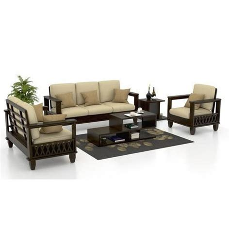Wooden Sofa Set With Price by Wooden Sofa Set व डन स फ स ट At Rs 15000 Set Wooden