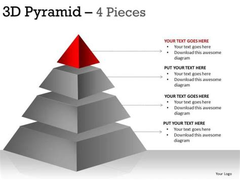 Free PowerPoint Pyramid Template