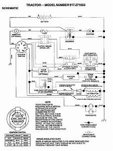 Craftsman Riding Lawn Mower Ignition Switch Wiring Diagram