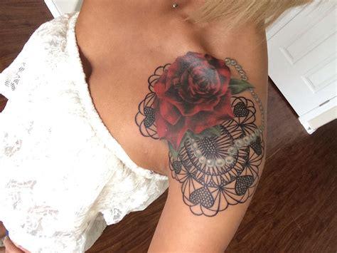 lace  pearls tattoo girly feminine  tattoos