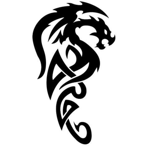 tribal tattoo tiger wave transparent png stickpng