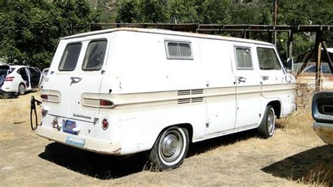 Purchase Used 1961 Chevrolet Corvair 95 Van 4 Speed Solid