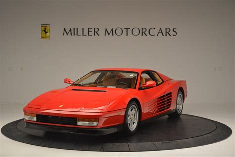Research, compare and save listings, or contact sellers directly from 1 testarossa models nationwide. Pre-Owned 1990 Ferrari Testarossa For Sale (Special Pricing)   Pagani of Greenwich Stock #4461A