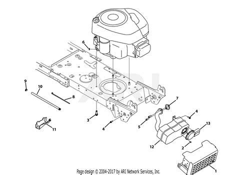 mtd ans  parts diagram  engine accessories