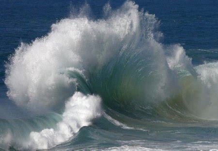 backwash lennox head australia oceans nature