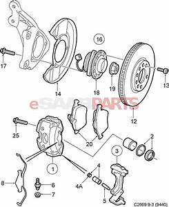 93186387  Saab Wheel Bearing Kit