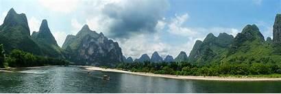 River China Li Yangshuo Guilin Landscape Mountains