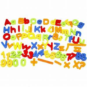 26pcs colorful letters alphabet numbers fridge magnetic With magnetic letters for babies