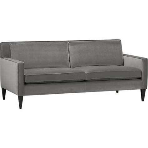 Crate And Barrel Apartment Sofa by Rochelle Apartment Sofa In Sofas Crate And Barrel
