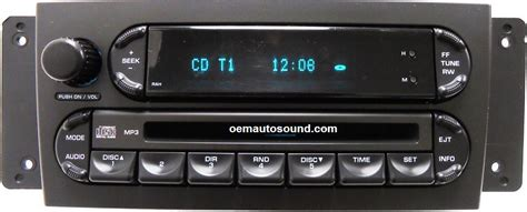 Chrysler Call In Number by P05094564ac Chrysler Pacifica Radio Cd Player Repair
