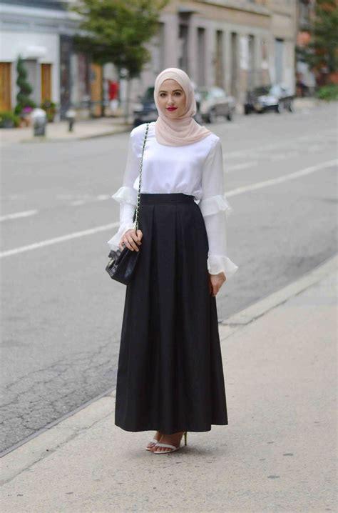 Best 25+ Hijab office ideas on Pinterest | Fashion baju hijab simple Hijab outfit and Hijab styles
