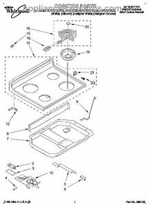 Parts For Whirlpool Rf375pxdq0  Cooktop Parts
