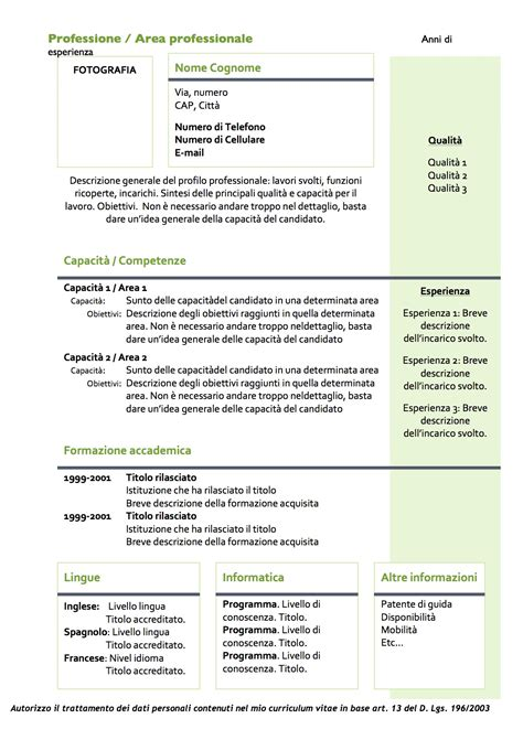 Curriculum Vitae  Modello 04  Modello Curriculum. Cover Letter Of Customer Service. Resume Objective Examples No Experience. Curriculum Vitae Belgique Gratuit. Cover Letter Cv Model. Cover Letter For Resume Upload. Application For Youth Employment Agency. Resume Examples Paralegal. Cover Letter Sample Jobstreet
