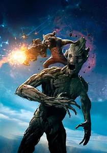 Rocket Raccoon and Groot from Guardians of the Galaxy ...