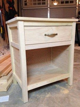 nightstand plans ideas  pinterest  table plans diy nightstand  wood  tables