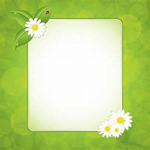 Green Flower Frames | www.pixshark.com - Images Galleries ...