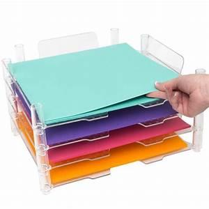 Casier Rangement Papier : casier de rangement 39 we r memory keepers 39 qt 4 la fourmi creative ~ Teatrodelosmanantiales.com Idées de Décoration