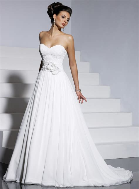 aline wedding dress the silhouettes of wedding dresses how to choose a dress by your type wedding411 on demand