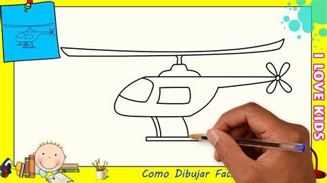 Como dibujar un avion FACIL paso a paso para niños y