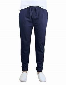Wholesale Men 39 S Drawstring Stretch Jogger Pants Navy
