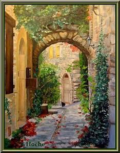 Tableau Peinture Sur Toile : tableau peinture huile sur toile 8 ~ Teatrodelosmanantiales.com Idées de Décoration
