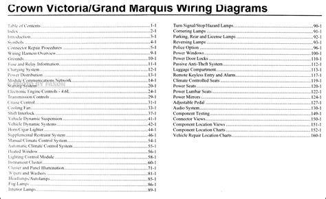 2010 crown grand marquis wiring diagram manual