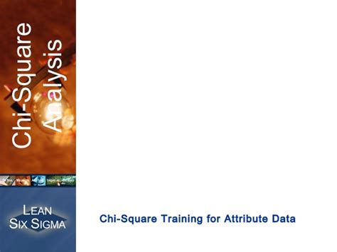 chi square analysis forattributedata