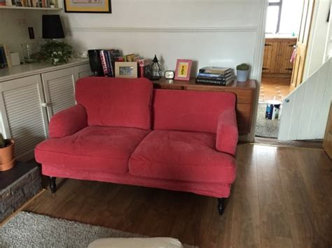 Divano Ikea Stocksund : Red Cover For Ikea Stocksund 2 Seater For Sale In