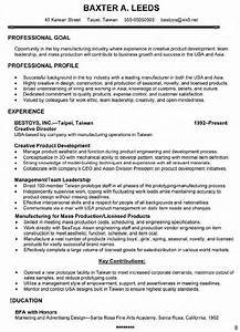 art director resume cover letter With director resume template