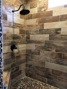 25 best ideas about wood tile shower on rustic shower shower ideas bathroom tile