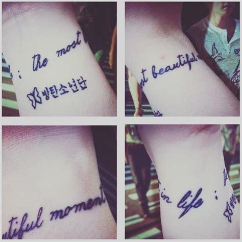 V Bts Tattoo My New Bts Inspired Tattoo Bts Bangtanboys Butterfly
