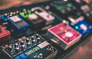 15 Major Types Of Guitar Effects Pedals