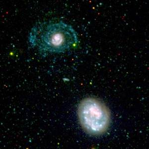 News   NASA Telescope Reveals Nearby Galaxy's Invisible Arms