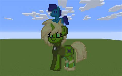peridot pony pixel art creation