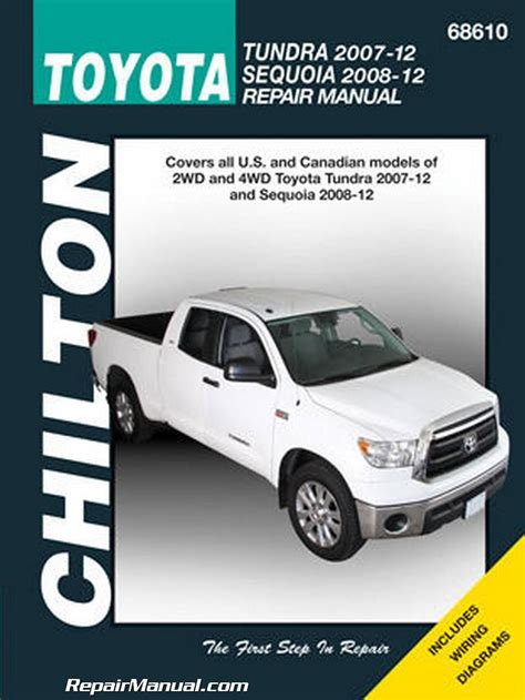 free online auto service manuals 2008 toyota sienna electronic throttle control chilton 2007 2012 toyota tundra 2008 2012 sequoia repair manual