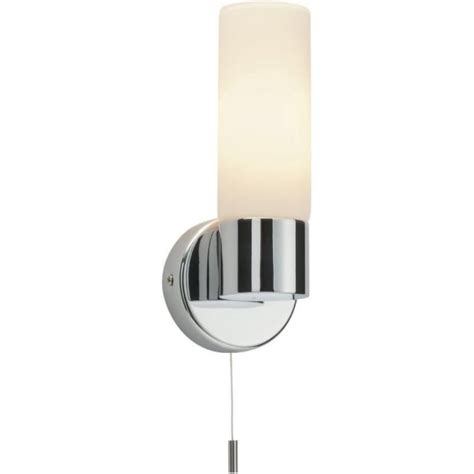 endon 34483 pure 1 light switched wall light ip44 polished
